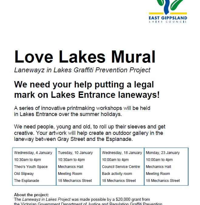 Love Lakes Mural