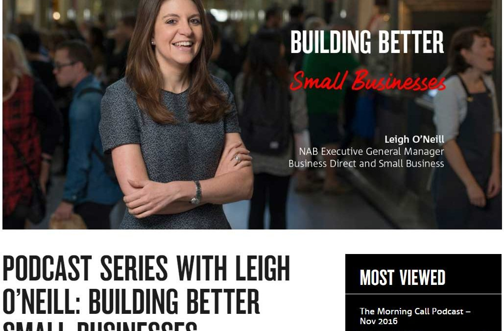 NAB Podcasts – Build your business