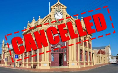 Town Meeting Cancelled