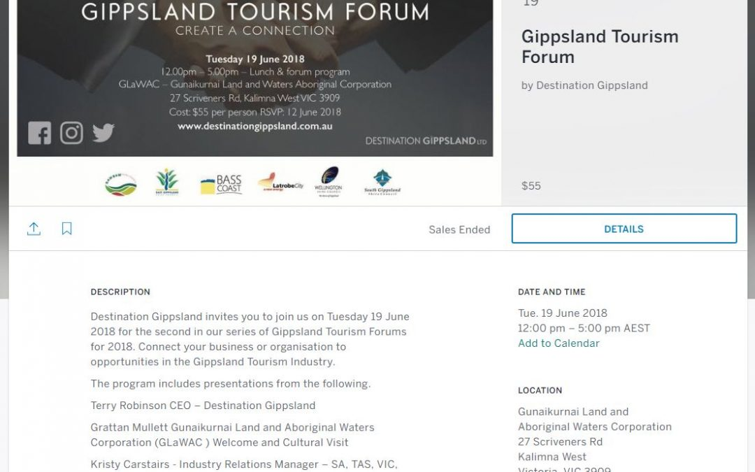 Gippsland Tourism Forum