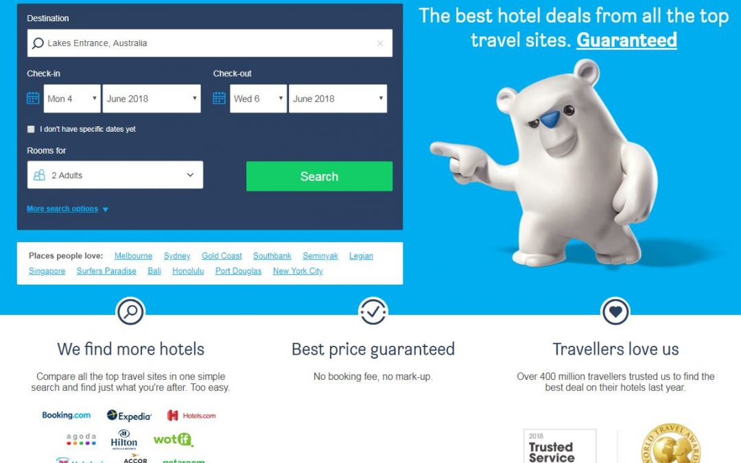 Online Booking Promotion